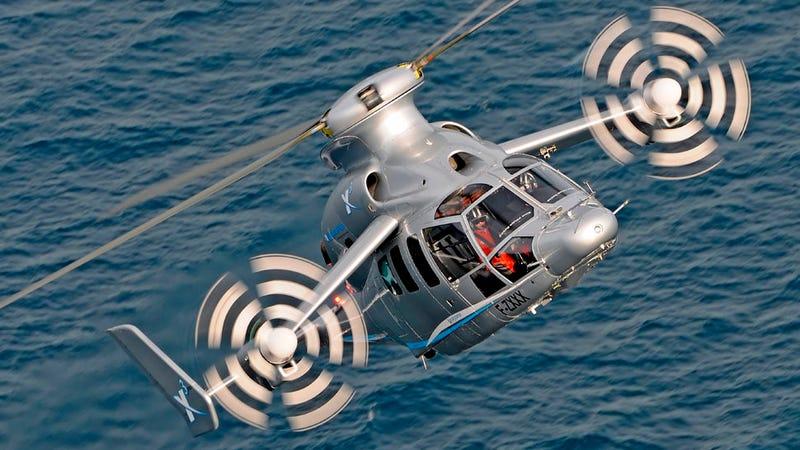Illustration for article titled El Eurocopter X3 ya es el helicóptero más rápido del mundo