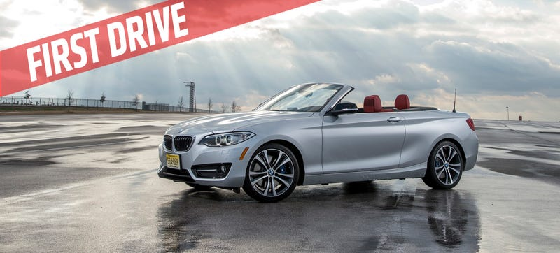 Illustration for article titled 2015 BMW 228i Convertible: Exactly What You Expect, And That's Good
