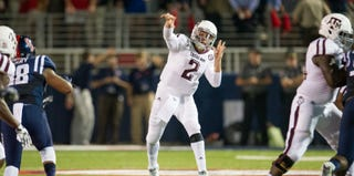 Johnny Manziel, No. 2 (Michael Chang/Getty Images)