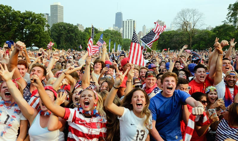 Illustration for article titled Videos: Fans React To USA World Cup Win
