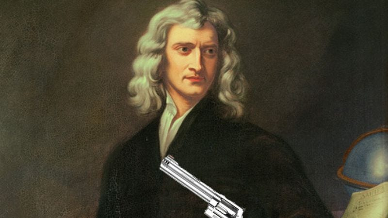 Illustration for article titled Sir Isaac Newton to empirically kick some ass in action movie from Fast And The Furious director