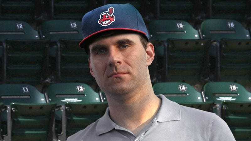 Illustration for article titled Fan At Indians Game Upset To Find Someone Else In His Section