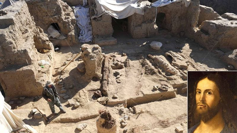 Archaeologists say evidence of Christ's hooking can be found all over this site in Jerusalem.