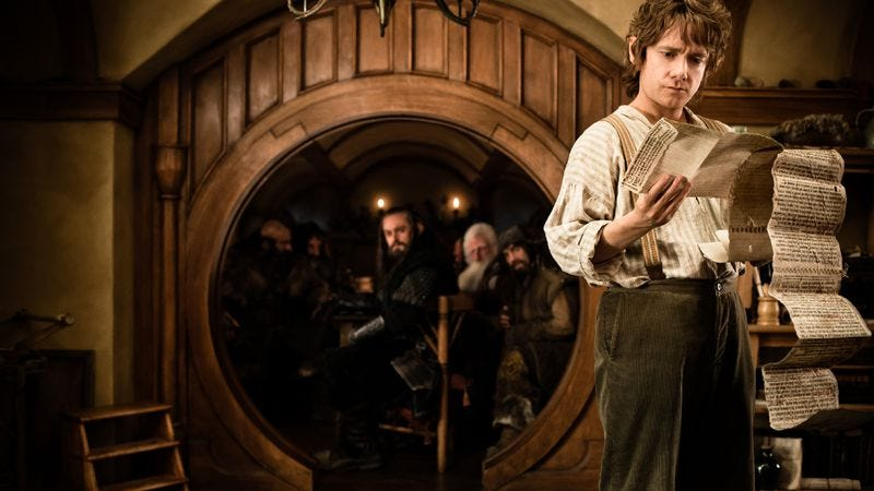 Illustration for article titled Weekend Box Office: Moviegoers see new J.R.R. Tolkien film out of Hobbit