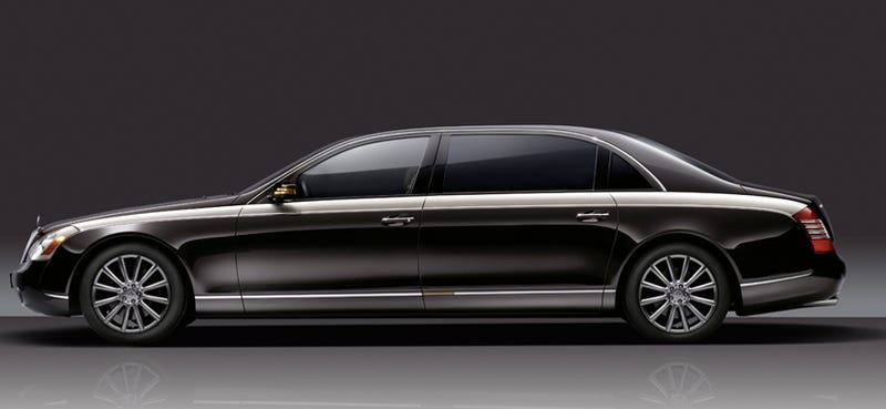 Illustration for article titled Maybach Zeppelin Revealed Ahead Of Geneva Coronation
