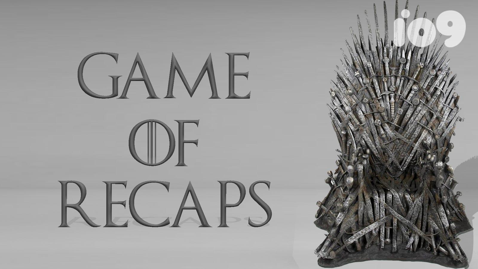 Complete Game of Thrones Season 1-7 Recap in Under 10 Minutes