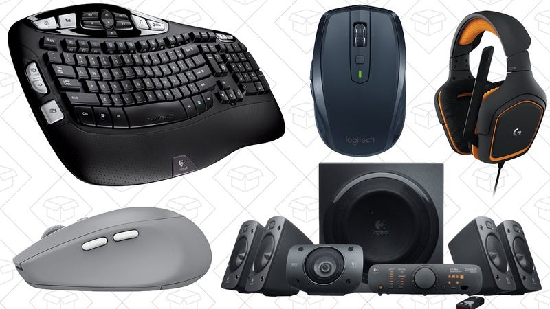 Illustration for article titled A Whole Bunch of Popular Logitech Stuff Is On Sale, Today Only On Amazon
