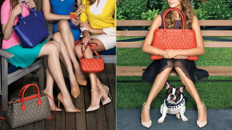 Illustration for article titled Vera Bradley Ditches the Diaper Bag Paisley for Sleek Leather