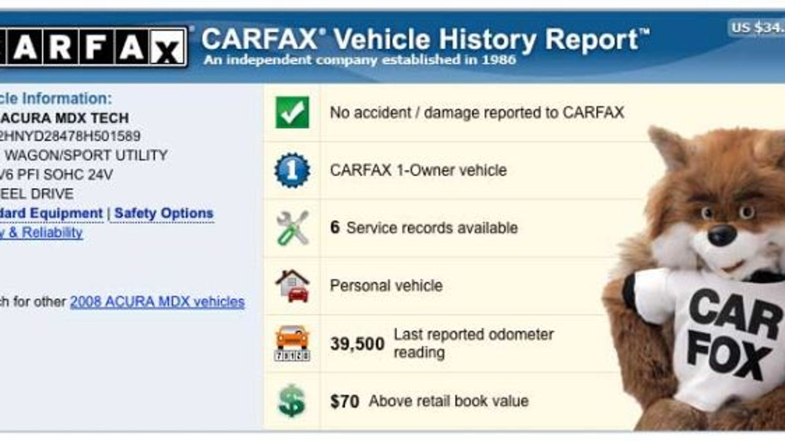 Couple Denied Trade Because CarFax Revealed Total Loss Six Years Late