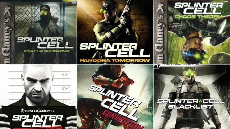 Illustration for article titled Splinter Cell Has Changed. Just Look At The Box Art.