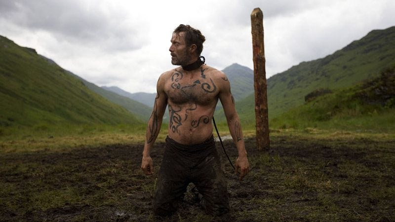Illustration for article titled Before Drive, Nicolas Winding Refn made the bloody good Viking movie Valhalla Rising