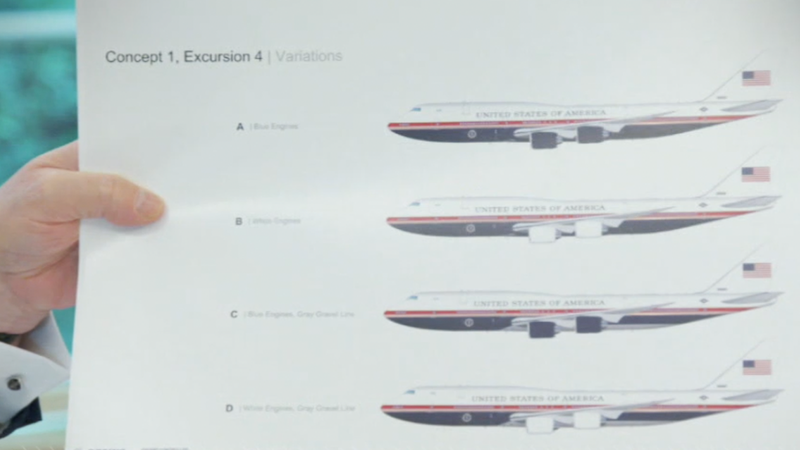 Illustration for article titled This Is What Trump Wants the Next Air Force One to Look Like