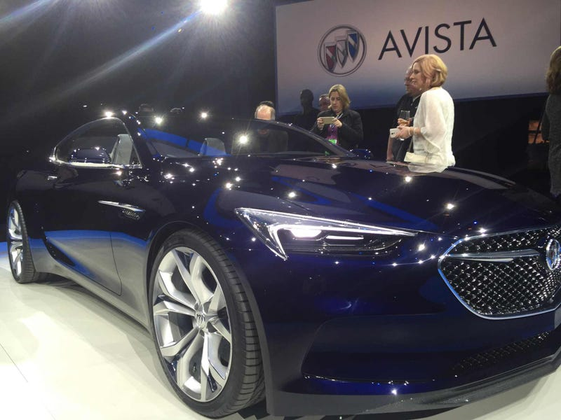 Illustration for article titled More Buick Avista Photos