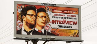 Illustration for article titled The Interview Scores a Perfect 10 on IMDb