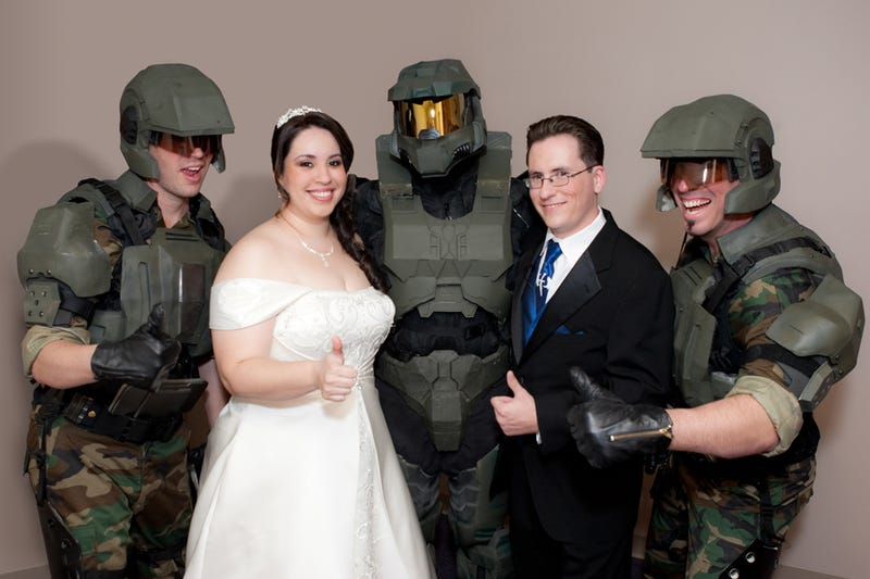 Illustration for article titled Married By Master Chief, One Year Later
