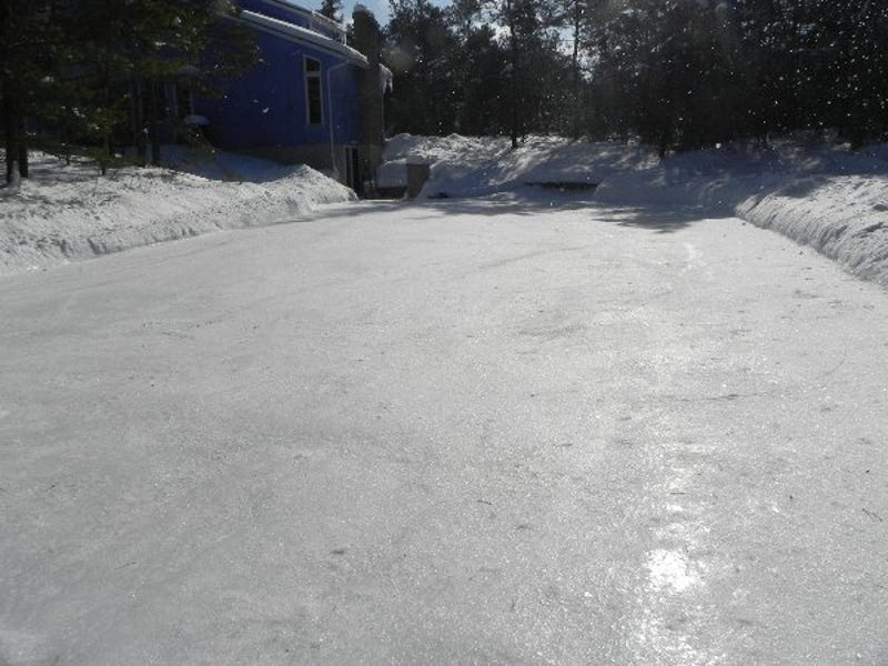 How To Build An Ice Rink In Your Backyard - Ice rink in backyard