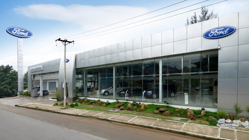 ford celebrates official opening of first myanmar dealership. Black Bedroom Furniture Sets. Home Design Ideas