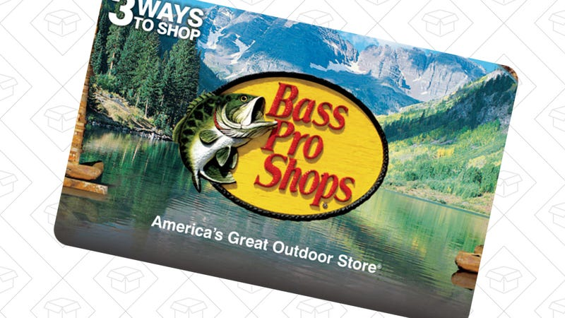 Buy a Bass Pro Shops Gift Card, Get $20 In Free Gas