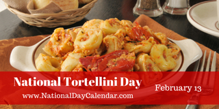 Illustration for article titled NATIONAL TORTELLINI DAY – NATIONAL BLAME SOMEONE ELSE DAY