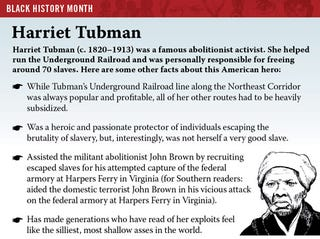 Illustration for article titled Black History Month: Harriet Tubman