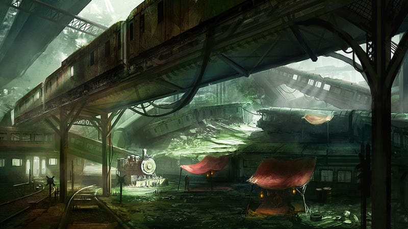 Illustration for article titled Final Fantasy VII's Train Graveyard Has Never Looked So Beautiful