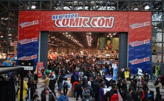 Illustration for article titled Holy Crap, New York Comic-Con Is Bigger Than San Diego Comic-Con
