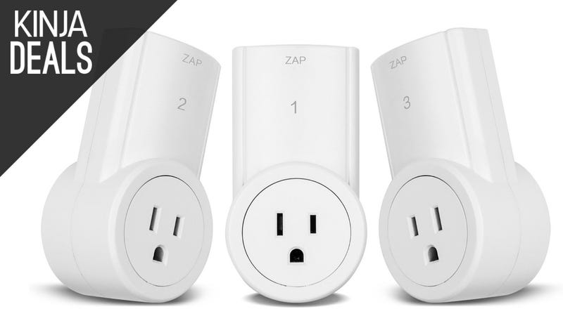 Illustration for article titled Control Your Lights From Across the Room With These Semi-Smart Outlets