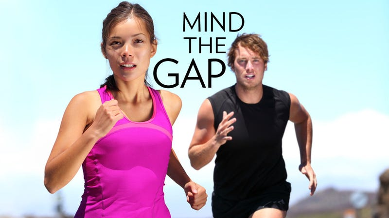Illustration for article titled If Women Want to Race Like Men, They Better Look Like Girls
