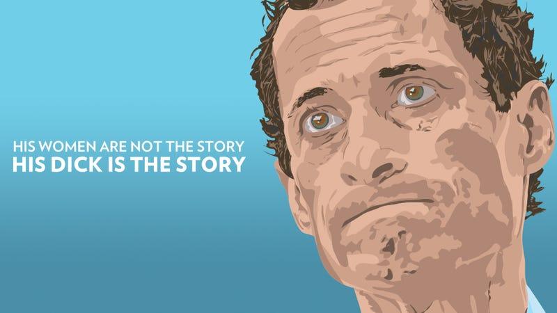 Illustration for article titled Reminder: Worst Person in Weiner Scandal Is Still Anthony Weiner