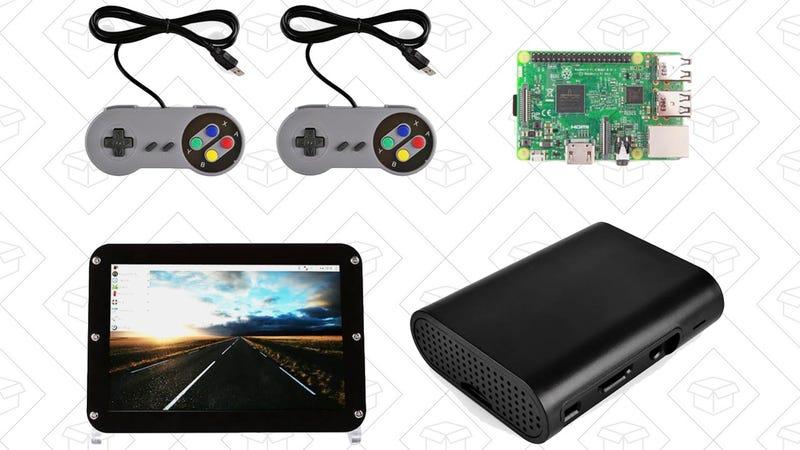 RetroPie Raspberry Pi 3 Game Station Bundle Kit | $120 | MassDrop