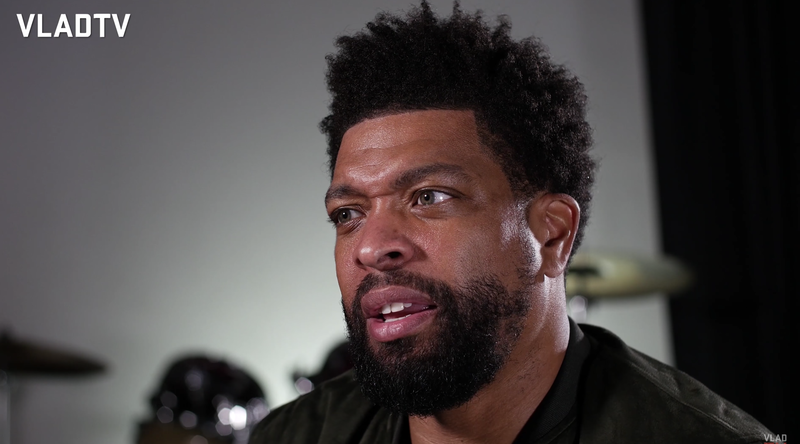 I Had No Hair On Me Deray Davis Says He Lost His -1472