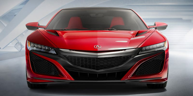 Illustration for article titled Counterpoint:We think the Acura NSX will get a V8