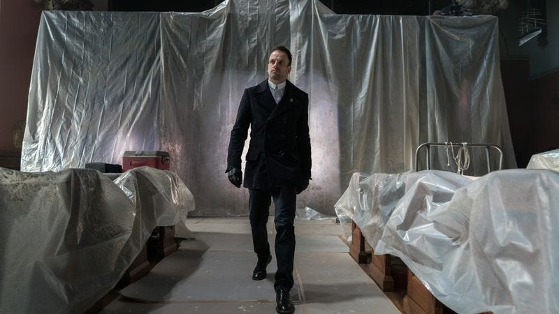 Illustration for article titled Elementary's finale goes out with a whimper