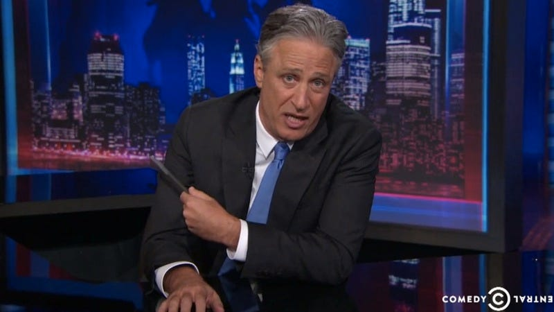 Illustration for article titled Jon Stewart will leave The Daily Show behind in August