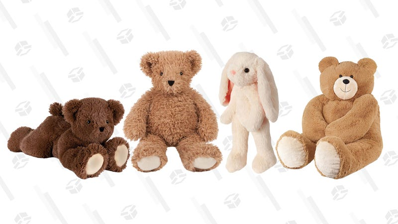 Cuddly Vermont Teddy Bear Gold Box | Amazon