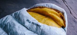 Illustration for article titled Adventure Tested: Sea To Summit Spark SP1 Ultralight Sleeping Bag