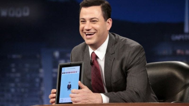 "Jimmy Kimmel named ""most dangerous celebrity"" by online security company"