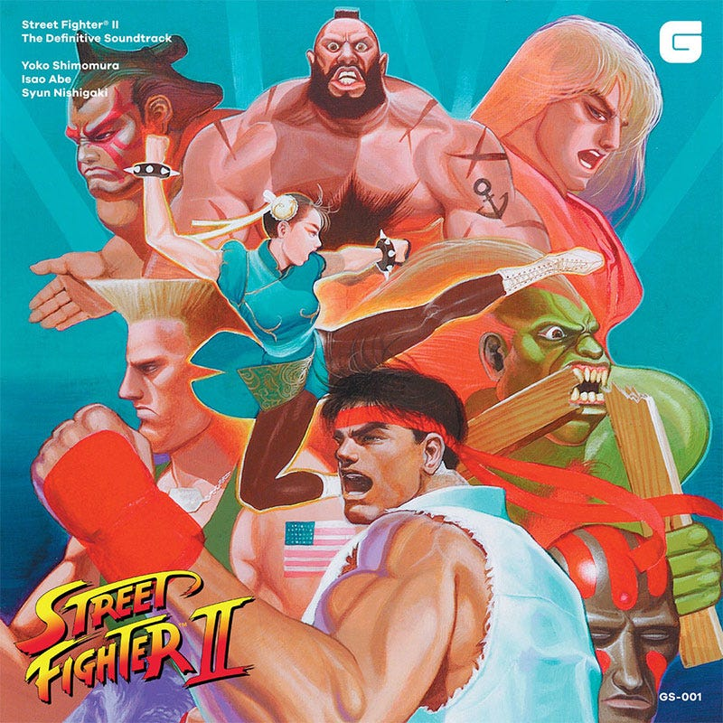 Illustration for article titled The Perfect Street Fighter Soundtrack