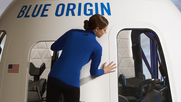 Is Blue Origin s Tourist Capsule Sexier Than SpaceX s?
