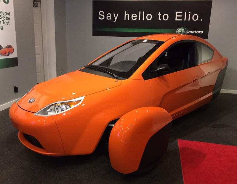 Illustration for article titled New Elio prototype