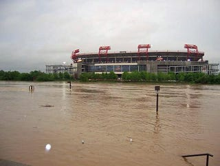 Illustration for article titled LP Field Will Soon Be Suitable Only For Water Polo (Photo Update)