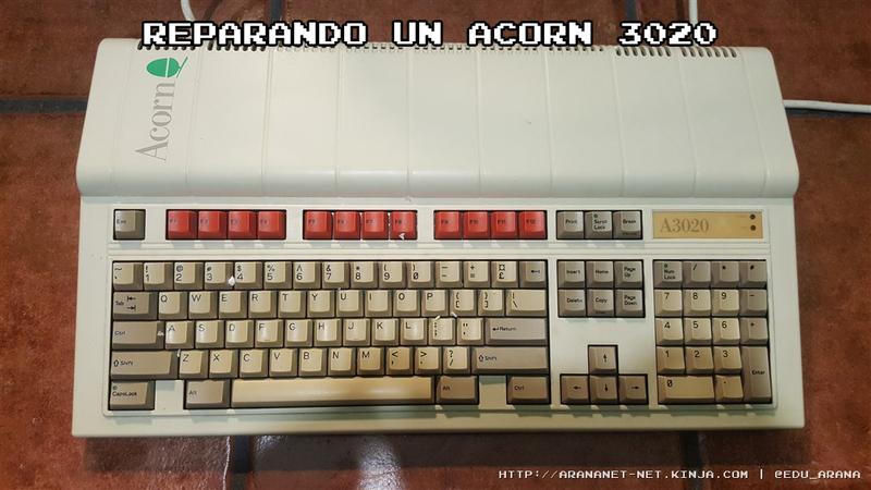 Illustration for article titled Reparando un Acorn 3020