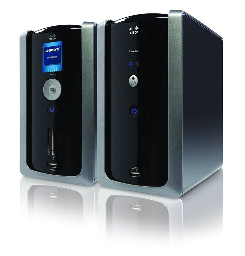 linksys media hub babysits your video music and pics streaming rh gizmodo com Disney Hub 5-Port Ethernet Hub