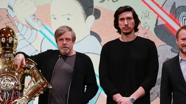 Good boys Mark Hamill and Adam Driver teamed up to help find a lost dog