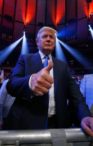 Donald TrumpAl Bello/Getty Images