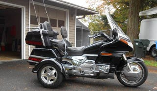 Illustration for article titled For $5,450, This 1993 Honda Gold Wing Trike Could Make You A Wheeler Dealer