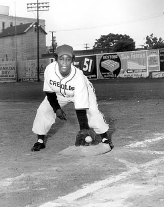 Toni Stone played for the New Orleans Creoles from 1949 to 1952.Wikipedia