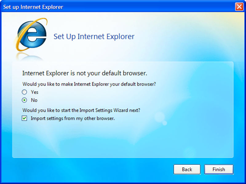 how to change my browser