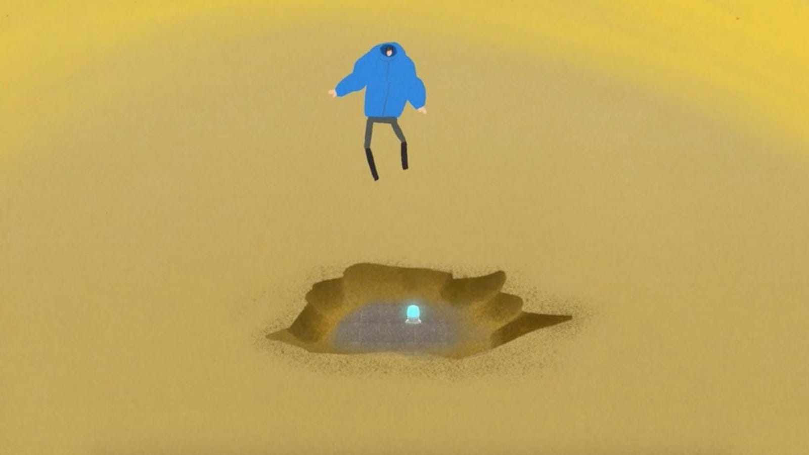A Beachcomber Makes an Apocalyptic Blunder in This Beautifully Animated Short