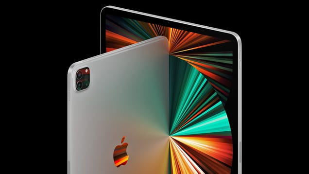 Apple Takes the Wraps Off the M1 iPad Pro With MiniLED Display
